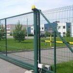 ворота из 3D сетки