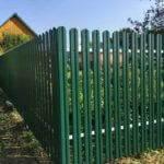 забор из евроштакетника 2 метра