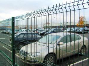 ограждение для парковок 3D