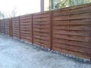 забор плетенка на фундаменте