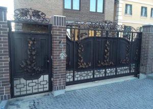 ворота металлические