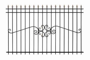 Кованый забор прайс